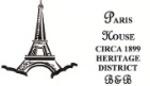PARIS HOUSE CIRCA 1899 HERITAGE DISTRICT Logo