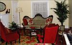 parlour with antique furniture